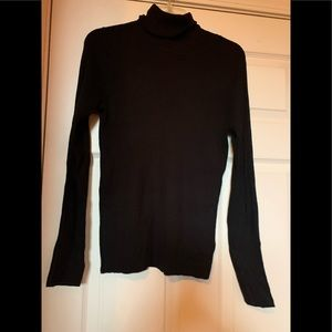 New with tags Black turtleneck